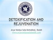 DETOXIFICATION AND REJUVENATION | Arya Vaidya Sala Baddi