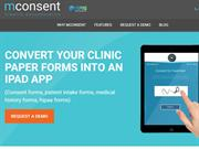 iPad Forms for Patient Intake | HIPAA Compliant Software - mConsent