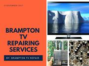 Brampton TV Repairing Services