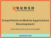 Kunsh Technologies - Hybrid Mobile Application Development Services