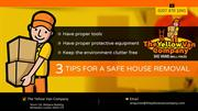 3 Tips For a Safe House Removal
