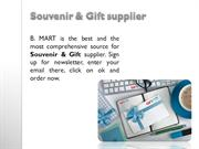 Souvenir & Gift supplier