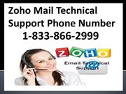 Zoho Mail Password Reset toll free Number1-833-866-2999