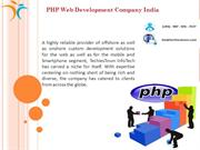 PHP-Web-Development-Company In India