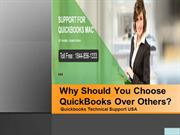 Why Should You Choose QuickBooks Over Others?