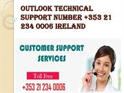 Outlook technical support number +353 21 234 0006 Ireland