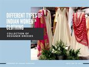 Different Types of Indian Women Clothing