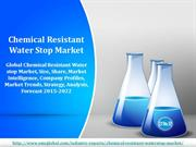Chemical Resistant Waterstop Market