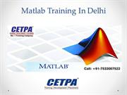 Matlab Training In Delhi - Training In Delhi