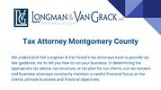 Tax Attorney Montgomery County