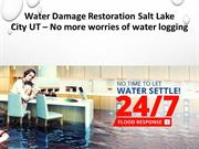 Water Damage Restoration Salt Lake City UT – No more worries of water