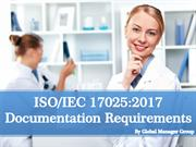 Overview on ISO 17025:2017 Documentation
