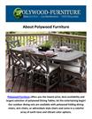 Buy Polywood Dining Tables & Picnic Tables at Polywood Furniture