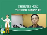 Chemistry Tuition Singapore at Chemistry Guru for best means.