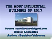 The  Most  Influential Buildings  of  2017