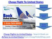 Cheap Flights To United States, United States Flight Deals - CheapTick