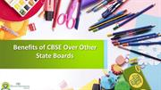 Benefits of CBSE Over Other StateBoards