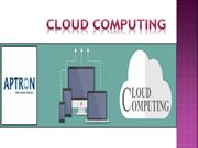 Cloud Computing Training Certification