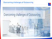Overcoming challenges of Outsourcing