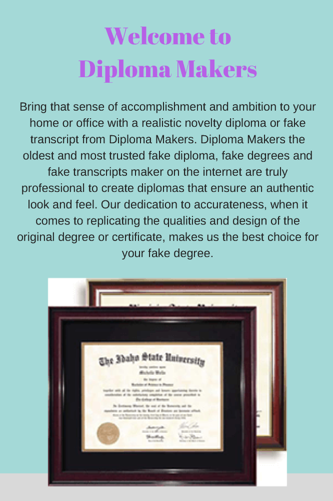 most trusted fake diploma maker authorstream