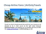 Cheap Airline Fares And Flight Deals