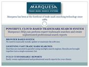Creation and Backup for Trademark Search Reports – Marquesa