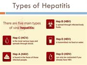 Hep C Cure -Types of Hepatitis