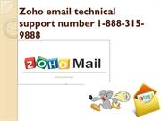 zoho email technical support number 1-888-315-9888 | customer service