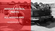 Nissan Patrol Parts - All Nissan 4WD