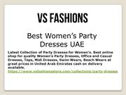 Party Dresses For Women Uae