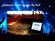 Hire Video Equipment Denver - AV Denver