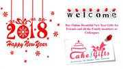 Order new year cake from CakenGifts.in for his new year party?