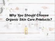 Why You Should Choose Organic Skin Care Products