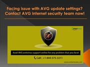 Facing issues with your AVG antivirus?