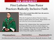 First Lutheran Trans Pastor Practices Radically Inclusive Faith