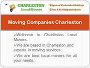 Charleston SC Moving Companies