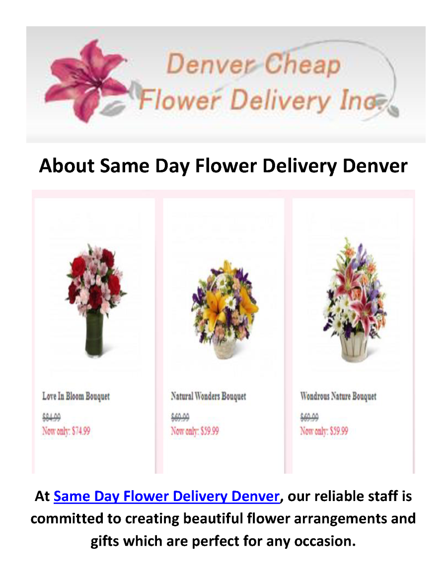 Cheap Best Flower Delivery In Denver Co 720 903 2533 Authorstream
