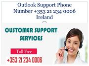 Outlook Support Phone Number +353 21 234006 Ireland