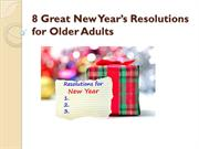 8 Great New Year's Resolutions for Older Adults