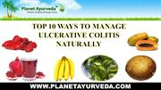 Natural ways to manage ulcerative colitis at Home