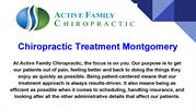 Chiropractic Treatment Montgomery County MD