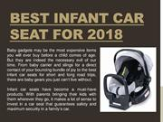 Best Infant Car Seat For 2018