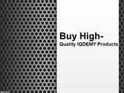 Buy high-quality IQDEMY products