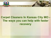 Carpet Cleaners In Kansas City MO