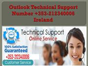 Outlook Technical Support Number +353-212340006 Ireland