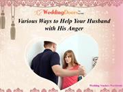 Various Ways to Help Your Husband with His Anger
