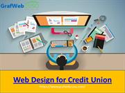 Web Design for Credit Union