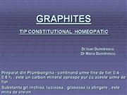 GRAPHITES MEDICAMENT HOMEOPATIC