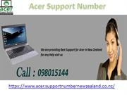Acer Support Number in New Zealand  @098015144