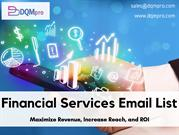 Financial Services Email List | Finance Industry Email List